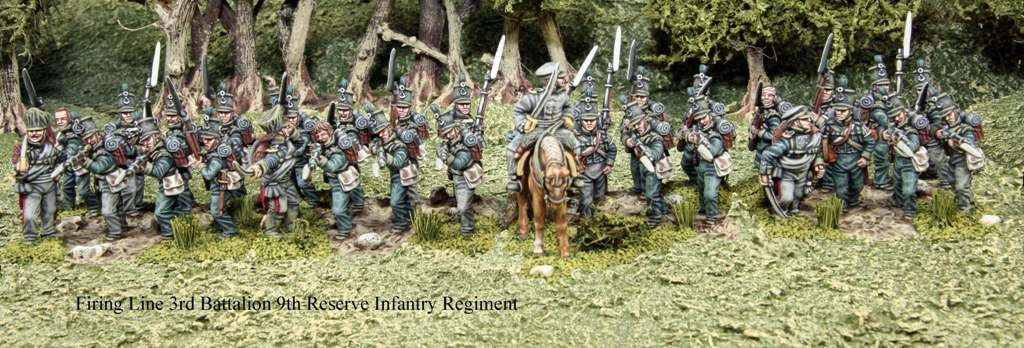 Firing Line 3rd Battallion 9th Reserve Infantry Regiment