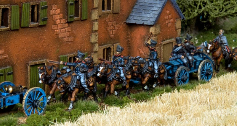 Foot Artillery Figures painted and photographed by Stephen Maughan