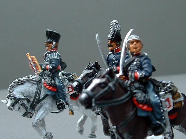 Hussars painted by Robert Hornsby