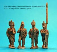 F19  Light infantry command group