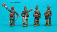 F44 – Foot officers in bicorns.