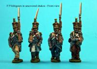 F5  Voltigeurs in campaign dress