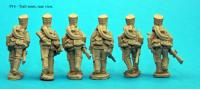 P14 Six figure pack with trail arms poses