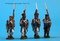 F9  Grenadiers in campaign dress