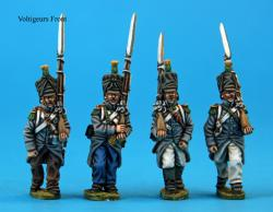 F2  Voltigeurs in campaign dress