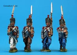 F3  Grenadiers in campaign dress