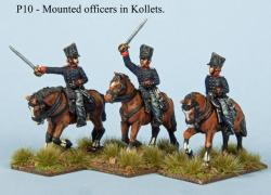 P10 Mounted officers in Kollets