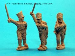 P13 Trail arms poses foot officers in Kollets