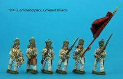 S14 - Command pack, covered shakos.