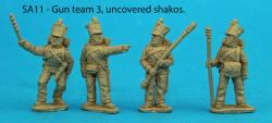SA11 - Team 3 uncovered shakos