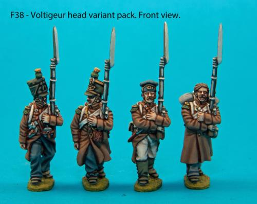 F38 – Voltigeur head variant pack.
