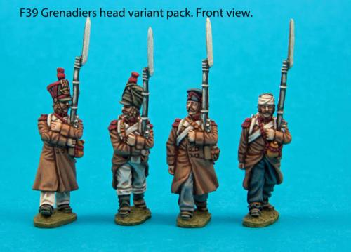 F39 – Grenadier head variant pack.
