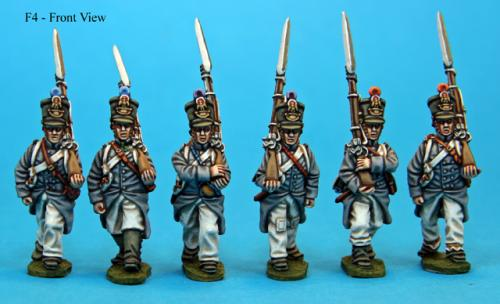 F4  Fusiliers in campaign dress