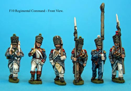 F10 Regimental command