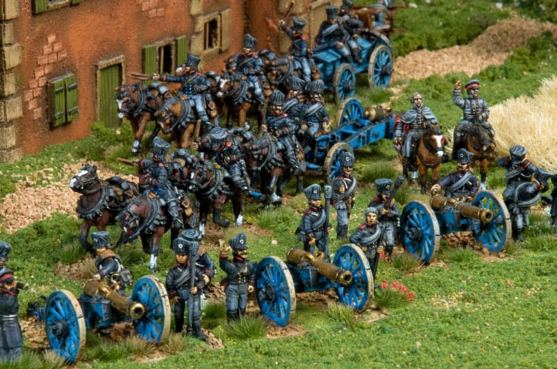 Foot Artillery 2 Figures painted and photographed by Stephen Maughan