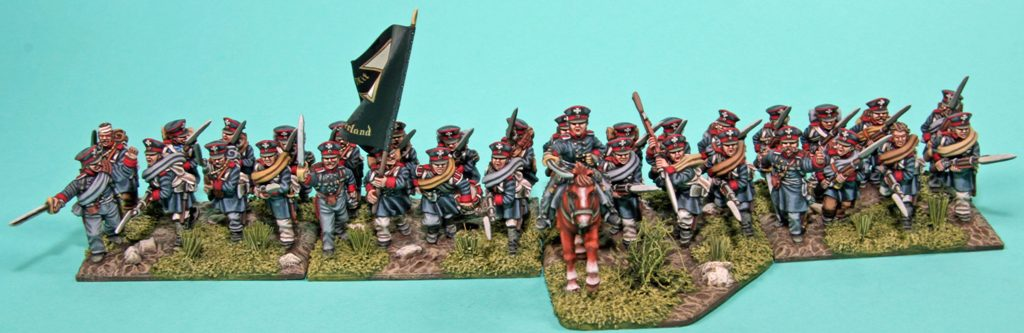 Prussian Landwehr Infantry Charging
