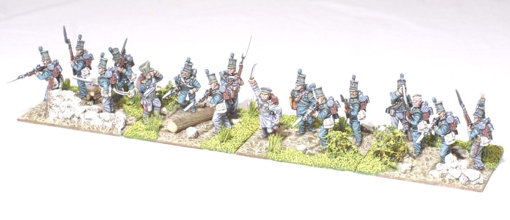 Third battalion, 9th reserve skirmishing